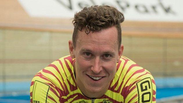Dráhový cyklista Tomáš Bábek.