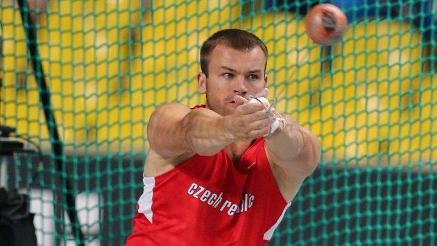 Kladivář Lukáš Melich ve finále mistrovství světa v Moskvě.