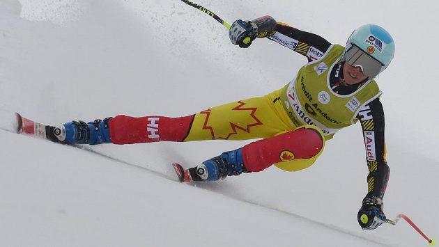Kanadská lyžařka Marie-Michele Gagnonová vyhrála nedělní kombinaci v Soldeu-El Tarter.