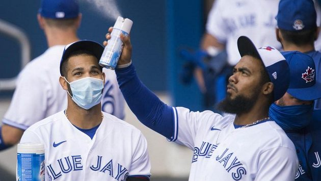 Baseballisté Toronta.