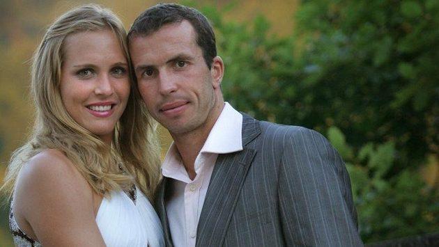 Radek Štěpánek a Nicole Vaidišová se dočkali narození dcery Stelly