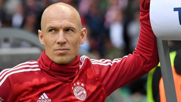 Arjen Robben chybí v předběžné nominaci nizozemského národního týmu pro mistrovství Evropy