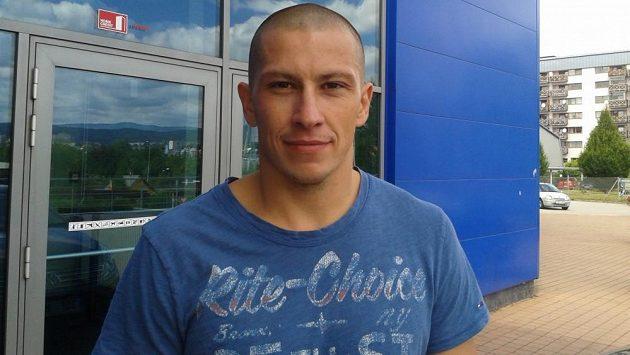 Liberecký obránce Martin Ševc.
