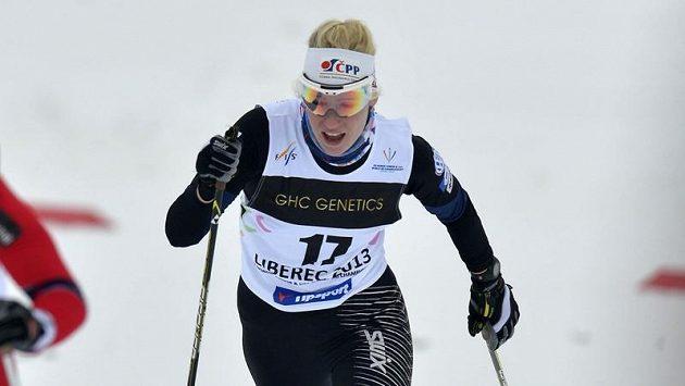 Běžkyně na lyžích Sandra Schützová (vpravo). Ilustrační foto.