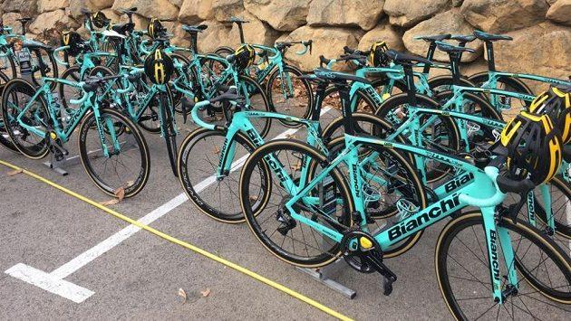 Kola cyklistické stáje LottoNL-Jumbo. Ilustrační snímek.