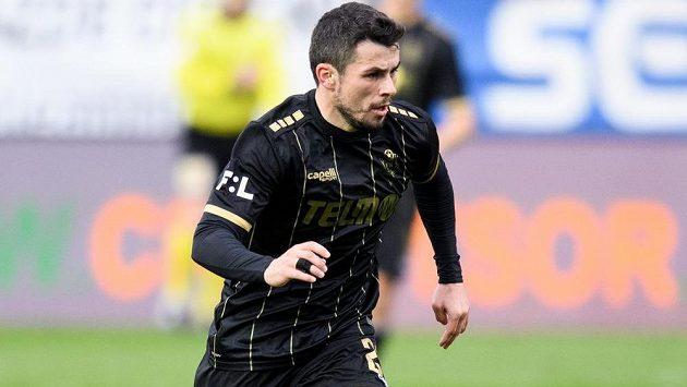 Vladimír Jovovič z Jablonce během utkání Fortuna ligy.