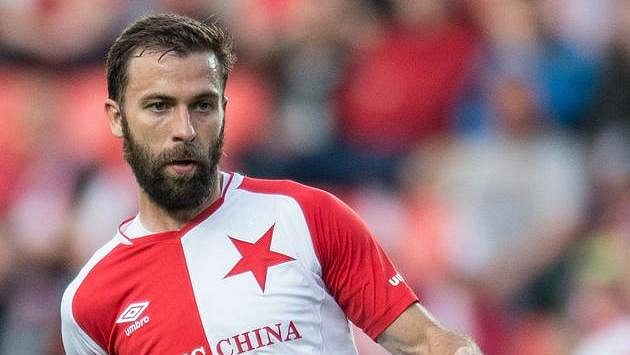 Josef Hušbauer ze Slavie cílí v derby na svůj bývalý klub...