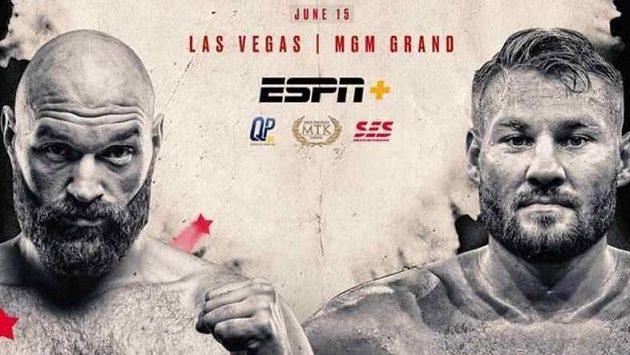 Tysona Furyho a Toma Schwarze čeká bitva v Las Vegas. Fury (vlevo) před ní promluvil o Joshuovi.
