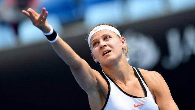 Tenistka Lucie Šafářová na Australian Open.