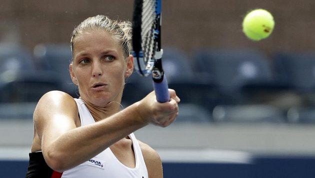 Karolína Plíšková na letošním US Open.