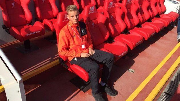 Slávistický brankář Vítězslav Jaroš míří do Liverpoolu.