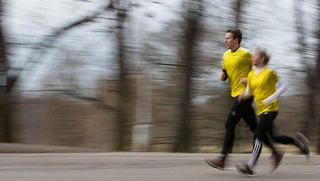 Při běžeckých dýcháncích si hlídejte tepovou frekvenci.