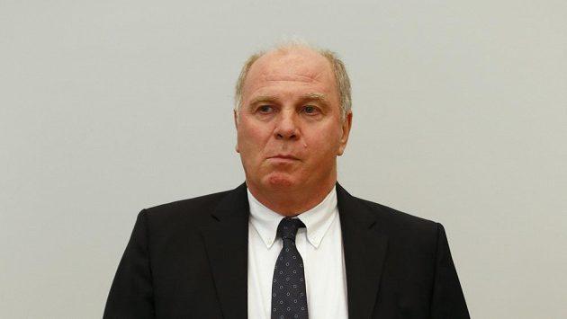 Prezident Bayernu Uli Hoeness