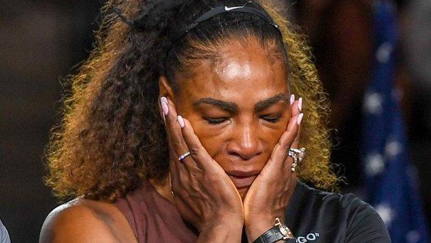 Zklamaná Serena Williamsová