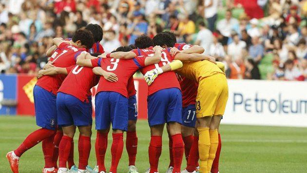 Fotbalisté Jižní Koreji na mistrovství Asie