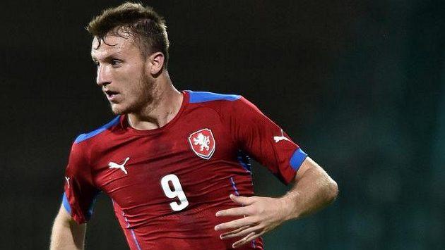 Michael Krmenčík ještě v dresu reprezentace do 21 let.