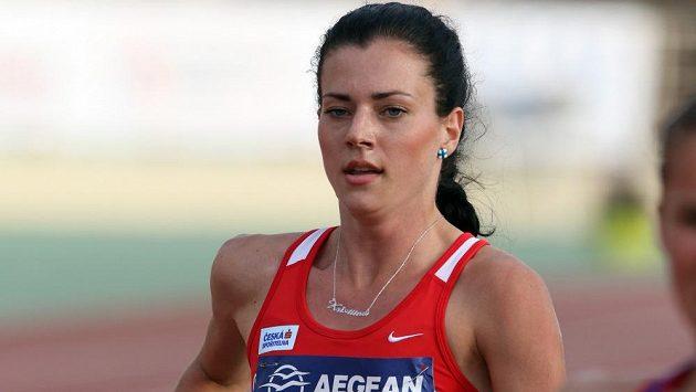 Kristiina Mäki v Heraklionu při mistrovství Evropy družstev.