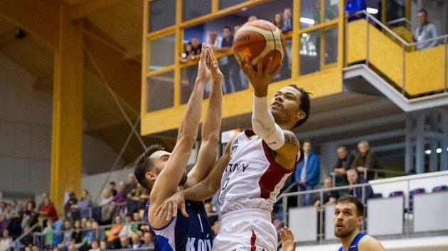 Ilustrační foto: Basketbalisté Svitav při zápasu v Brně.