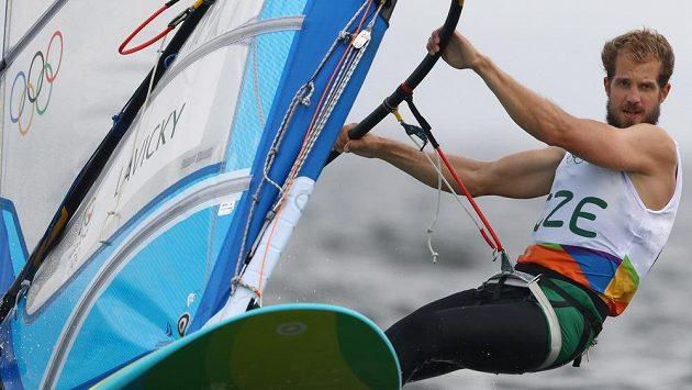 Karel Lavický na olympiádě v Riu.