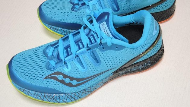 Běžecké boty Saucony Freedom ISO: na silnici jako hopík v kumbále.