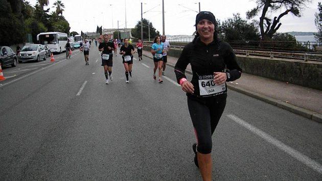 Olga Šváchová v Nice.