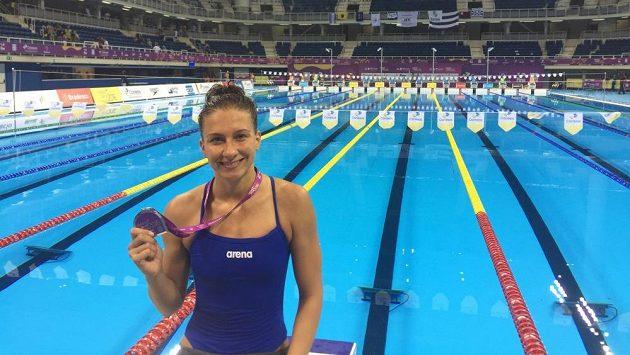 O olympijské medaile se bude bojovat až v srpnu, Barbora Závadová si ale dva kovy z Ria přivezla už teď.