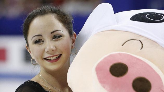 Ruská krasobruslařka Jelizaveta Tuktamyševová se poprvé stala mistryní světa.