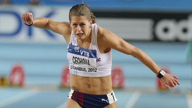 Sprinterka Kateřina Čechová.