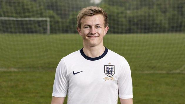 Nový dres anglické fotbalové reprezentace.