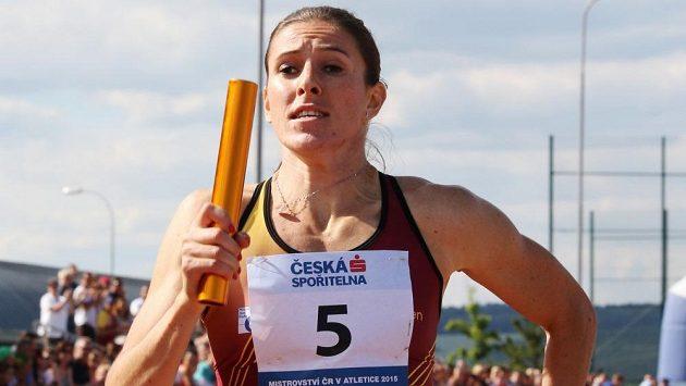 Zuzana Hejnová si v Plzni spravila chuť vítězstvím ve čtvrtkařské štafetě s Duklou.