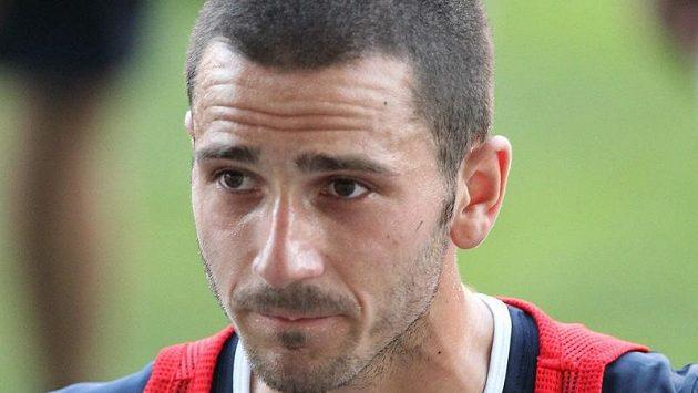 Italský fotbalový reprezentant Leonardo Bonucci.