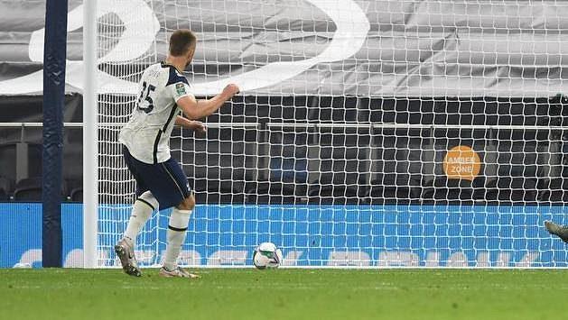 Eric Dier proměnil pokutový kop a pomohl Tottenhamu k postupu do čtvrtfinále poháru