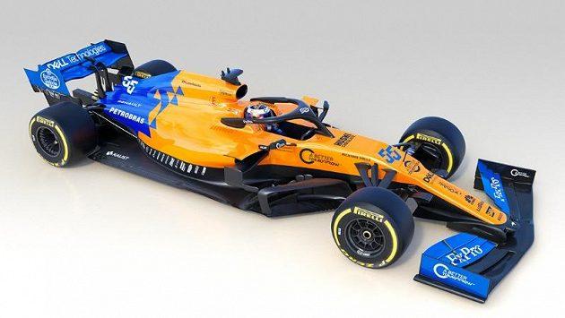 McLaren představil svůj nový monopost.