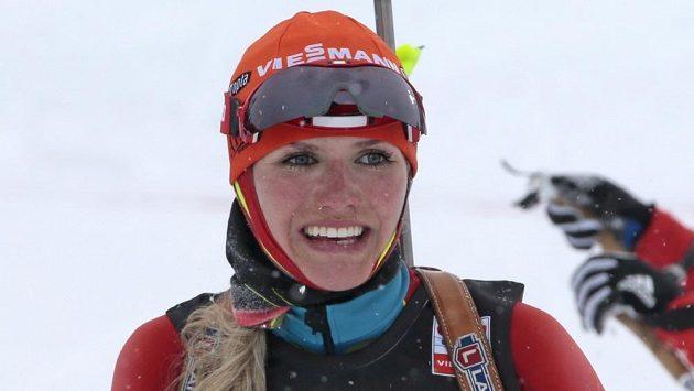 Kometa českého biatlonu Gabriela Soukalová.