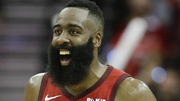 James Harden z Houstonu prožil v NBA další povedený střelecký večer.