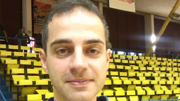 Trenér ústeckých basketbalistů Martin Stavěl.