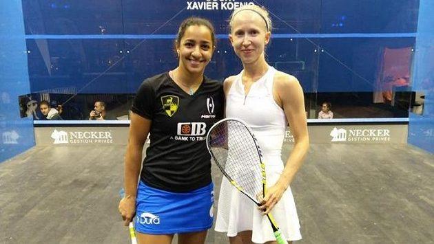 Nejlepší domácí squashistka Anna Serme si zahrála proti světové jedničce.