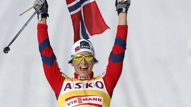 Šťastná Norka Marit Björgenová