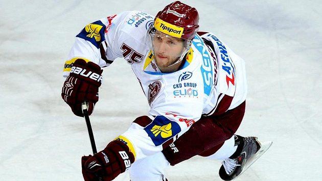 Hokejista Sparty Jan Piskáček.
