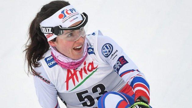 Běžkyně na lyžích Kateřina Razýmová před závody v Novém Městě na Moravě