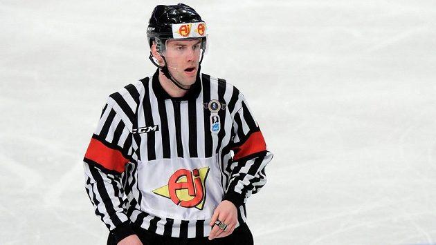 Antonín Jeřábek při loňském finále MS Švédsko - Švýcarsko.