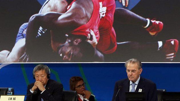 Zápas je po únorovém vyřazení znovu olympijským sportem.