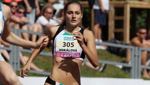 Tereza Vokálová při mistrovství republiky v Táboře.