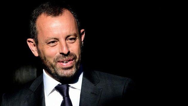Bývalý šéf Barcelony Sandro Rosell.