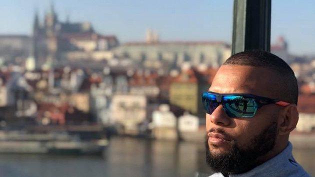 Thiago Santos v Praze.