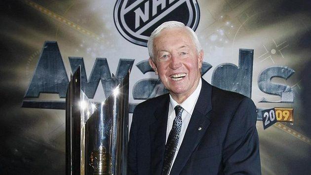 Velikán hokejové historie Jean Beliveau na snímku z roku 2009.