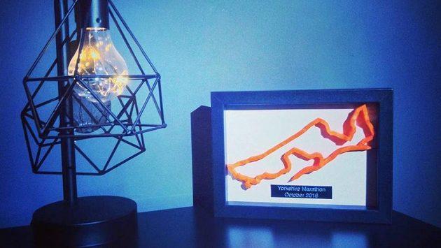 Trojdimenzionální model závodu - velmi originální a nevšední dárek.