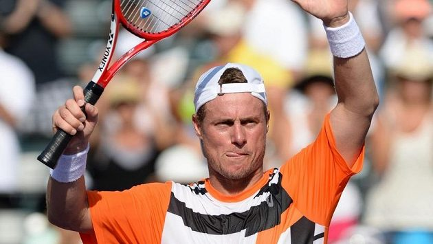 Australský tenista Lleyton Hewitt