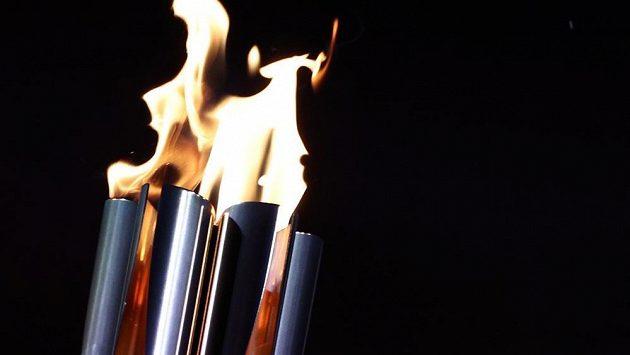 Paralympijská pochodeň (ilustrační foto)