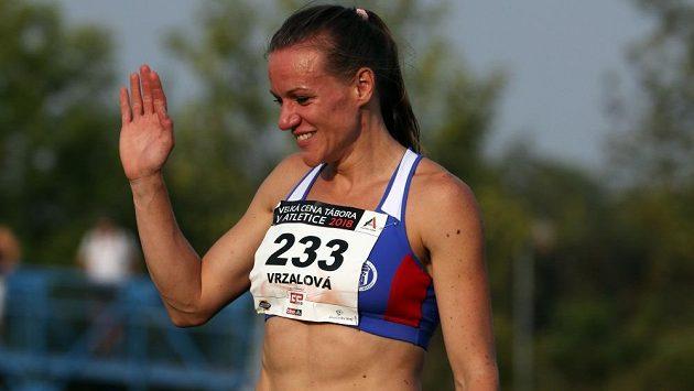 Vítkovická běžkyně Simona Vrzalová.